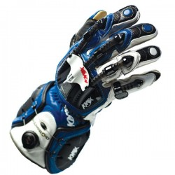 GUANTES KNOX HANDROID ARMOUR AZUL