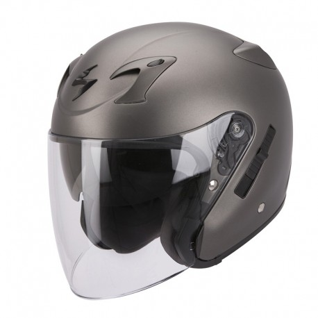 CASCO SCORPION EXO 220 ANTRACITA MATE