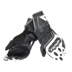 GUANTE DAINESE CARBON D1 LONG NEGRO BLANCO ANTRACITA