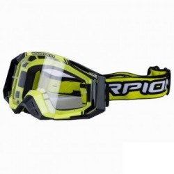 GAFAS CROSS SCORPION AMARILLO NEGRO E 18