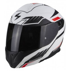 CASCO SCORPION EXO920 SHUTTLE BLANCO MATE NEGRO