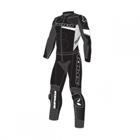 MONO SPIDI RACE WARRIOR TOURING DIVISIBLE NEGRO BLANCO