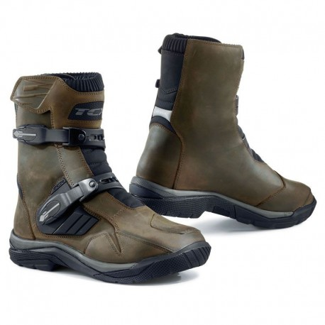 BOTAS TCX BAJA MID WATERPROOF MARRON