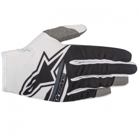GUANTES ALPINESTARS YOUTH RADAR FLIGHT BLANCO NEGRO