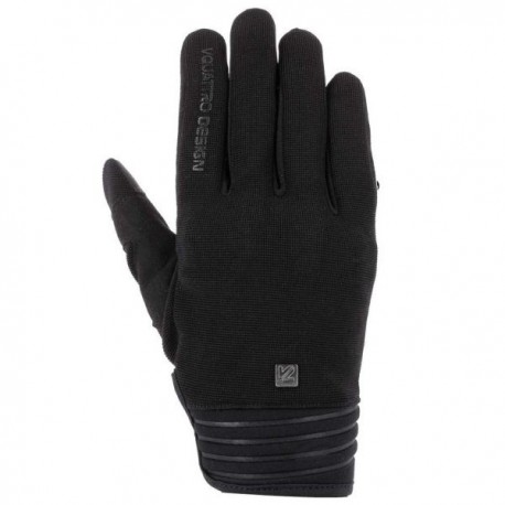 GUANTES V4 DISTRICT 18 NEGRO
