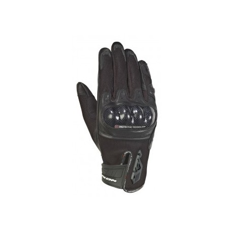 GUANTES IXON RS RISE AIR NEGRO
