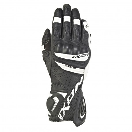 GUANTES IXON RS TEMPO AIR LADY NEGRO BLANCO
