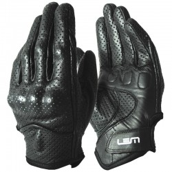 GUANTE LEM SPORT LEATHER NEGRO