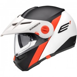 CASCO SCHUBERTH E1 GRAVITY NARANJA MATE