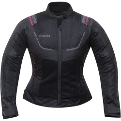 CHAQUETA DEGEND BREEZE LADY NEGRO ROSA