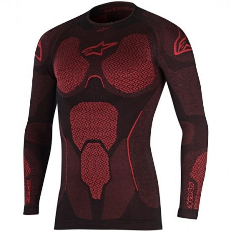SOTOMONO ALPINESTARS RIDE TECH SUMMER NEGRO ROJO