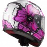 CASCO LS2 FF353 RAPID POPPIES ROSA
