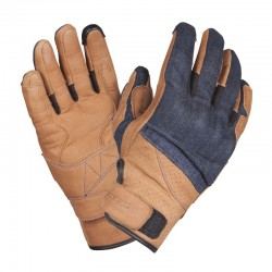 GUANTES QUARTER MILE BLAKE MARRON AZUL