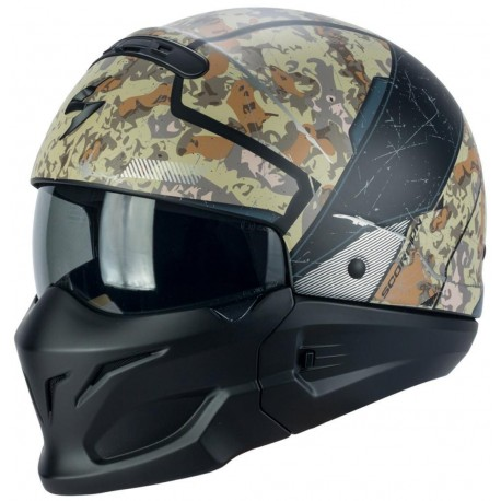 CASCO SCORPION COMBAT OPEX SABLE GRIS
