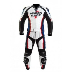 MONO MUGEN RACE 1405 SUIT THRE3AD BLANCO AZUL NEGRO ROJO
