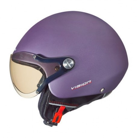CASCO NEXX X60 VISION PLUS PURPLE BLOCK MATE