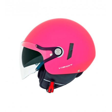 CASCO NEXX XS.60 VF2 ROSA BLOCK MATE