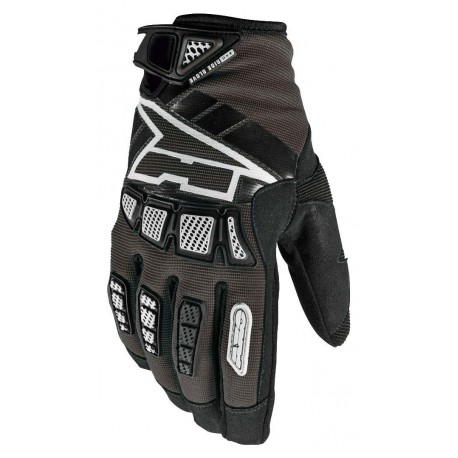GUANTES AXO WHIP JUNIOR NEGRO