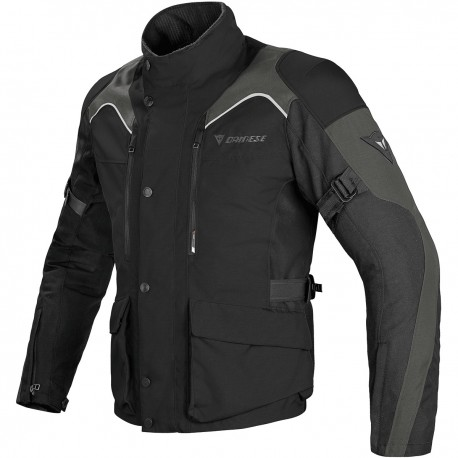 CHAQUETA DAINESE TEMPEST DDRY NEGRO GRIS