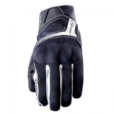 GUANTE FIVE 5 RS3 NEGRO BLANCO