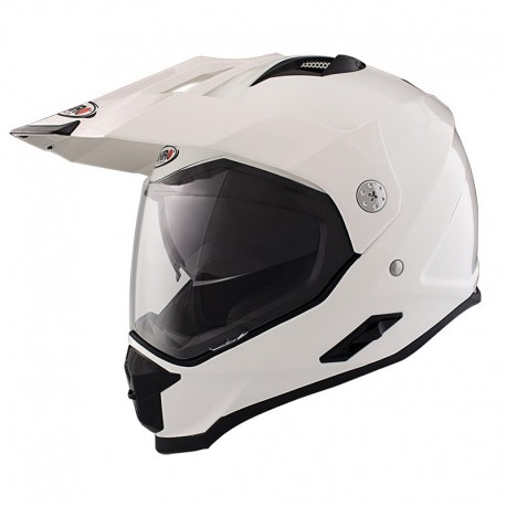CASCO SHIRO MX-313 BLANCO