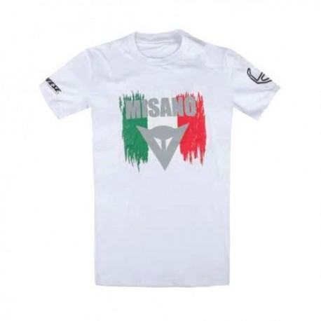 T-shirt DAINESE MISANO D1 BRANCO