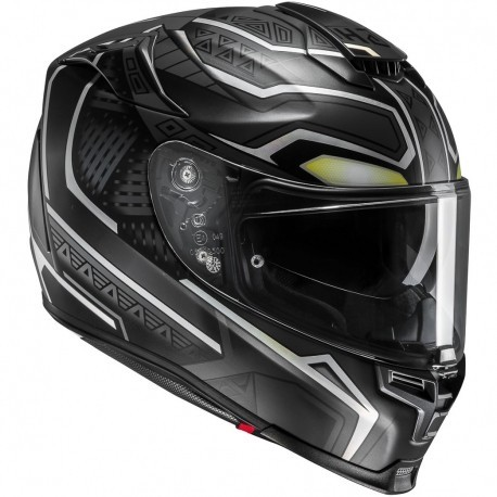 CASCO HJC RPHA 70 BLACK PANTHER MARVEL
