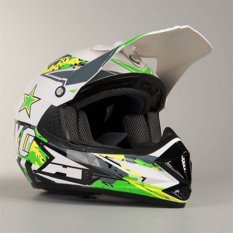 CASCO AXO NINJA JUNIOR AMARILLO