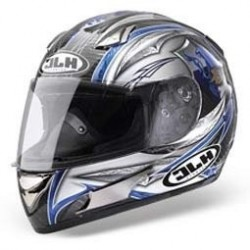 CASCO HJC HQ1 LORDSHIP MC5 NEGRO GRIS
