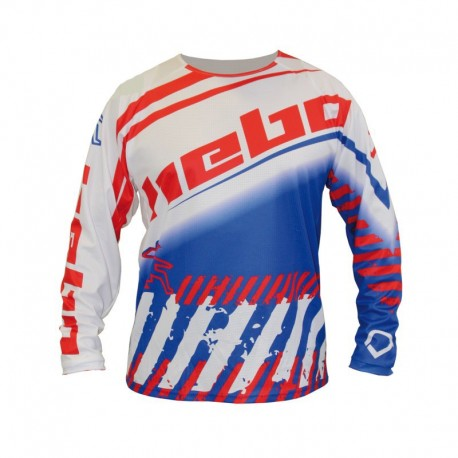 JERSEY HEBO END CROSS STRATOS BLANCO