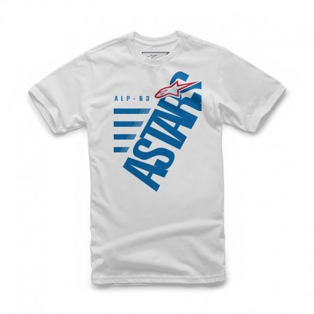 T-SHIRT ALPINESTARS BIGUN BRANCO