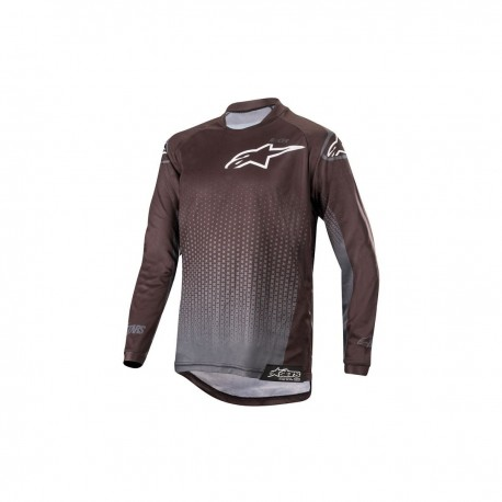 JERSEY ALPINESTARS YOUTH RACER GRAPHITE NEGRO ANTRACITA