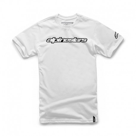 CAMISETA ALPINESTARS WORDMARK BLANCO