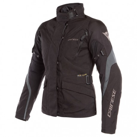 CHAQUETA DAINESE TEMPEST 2 LADY DDRY NEGRO GRIS