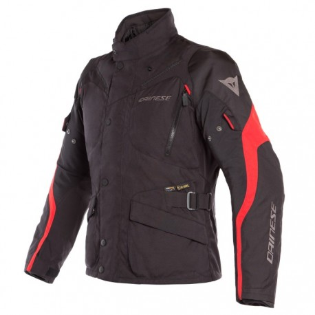 CHAQUETA DAINESE TEMPEST 2 DDRY NEGRO ROJO