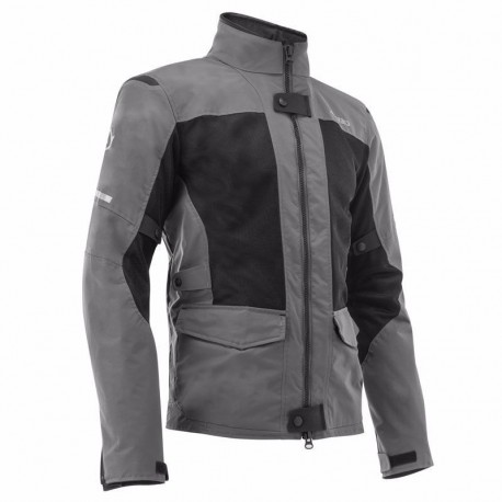 CHAQUETA ACERBIS RAMSEY MY VENTED 2.0 LONG NEGRO GRIS