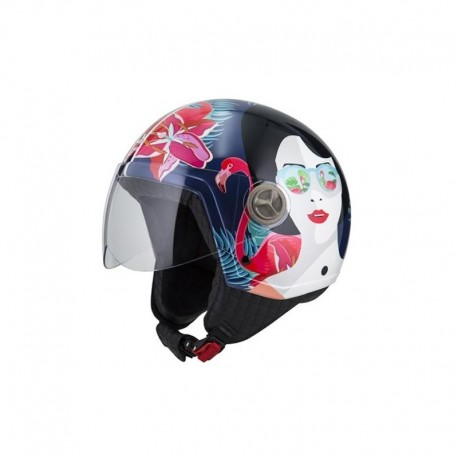 CASCO NZI ZETA GRAPH FLAMENCO