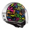 CASCO OF558 SPHERE LUX CRISP NEGRO AMARILLO FLUOR