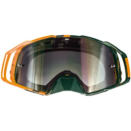 GAFAS MT MX EVO STRIPES NEGRO NARANJA