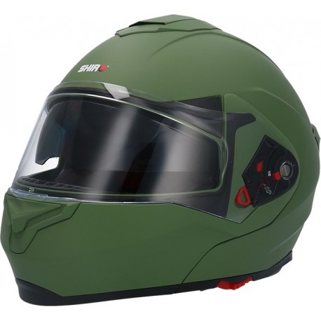 CASCO SHIRO SH-501 FREEDOM VERDE MATE