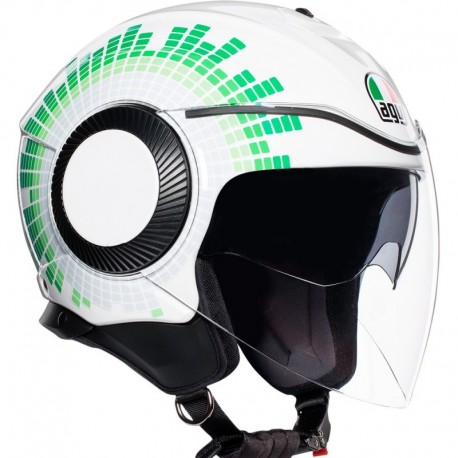 CAPACETE AGV ORBYT GINZA BRANCO ITALY