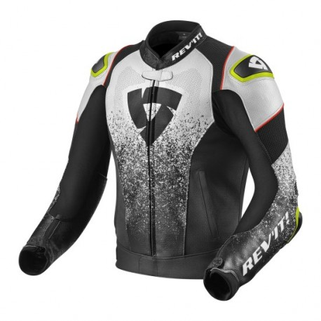 CHAQUETA REVIT QUANTUM AIR NEGRO BLANCO