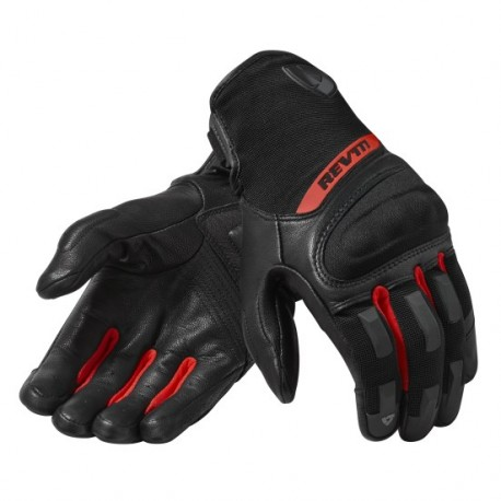 GUANTES REVIT STRIKER 3 NEGRO ROJO