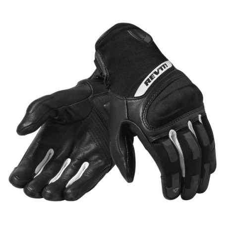 GUANTES REVIT STRIKER 3 NEGRO BLANCO