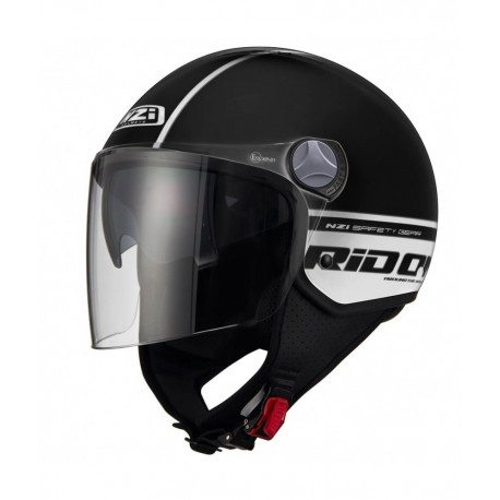 CASCO NZI CAPITAL 2 DUO RIDON NEGRO BLANCO