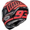 CASCO SHOEI X-SPIRIT3 MARC BLACK CONCEPT TC1