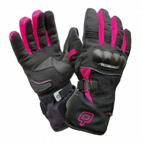 GUANTES QUARTER MILE FROST LADY NEGRO ROSA