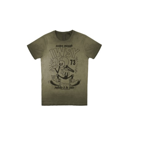 CAMISETA ACERBIS T-SHIRT SP CLUB WISDOM VERDE