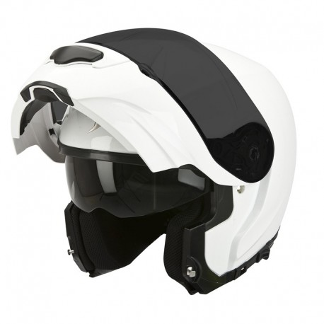 CASCO SCORPION EXO 3000 SOLIDO BLANCO