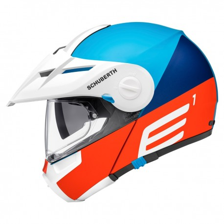 CASCO SCHUBERTH E1 CUT AZUL MATE